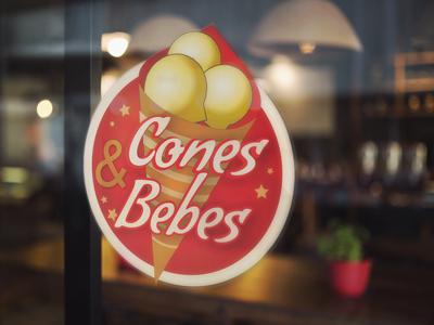 Cones e Bebes – Logotipo