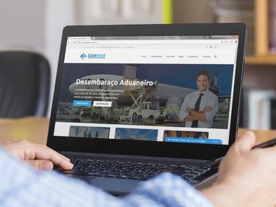SANMAR Logística – Website