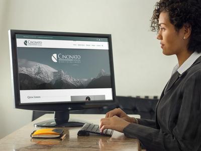 Cincinato Advocacia – Website