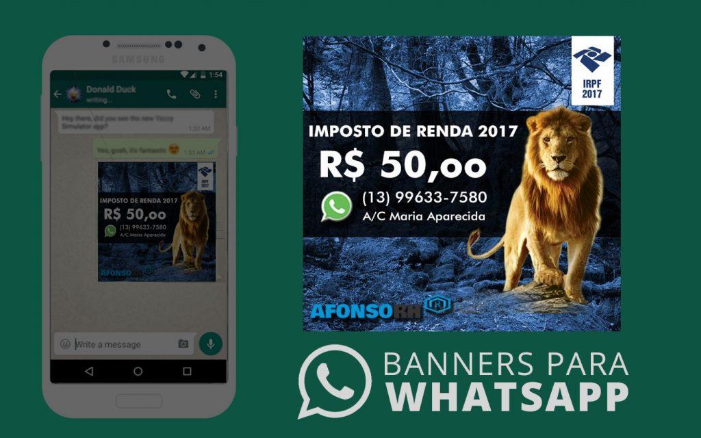 AfonsoRH – Whatsapp Banner