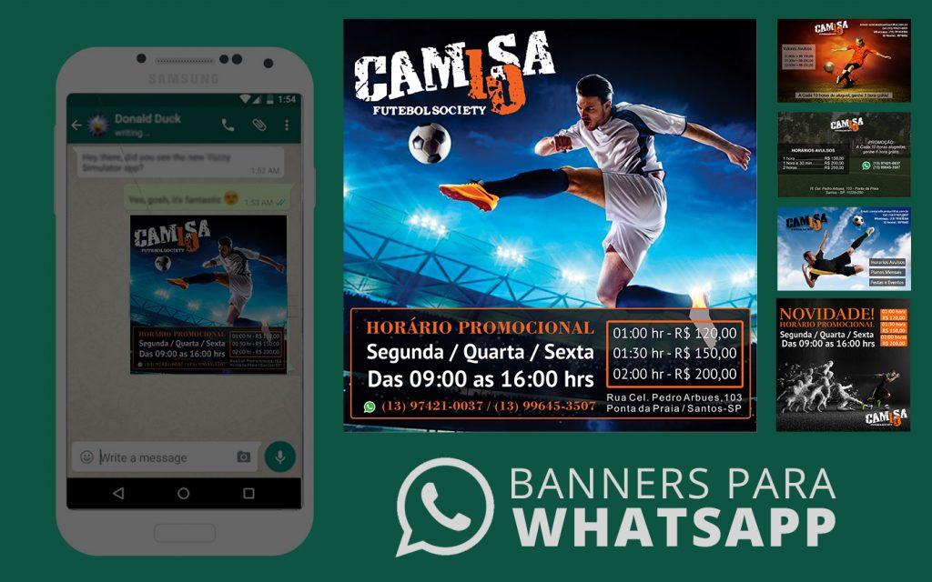 Camisa 10 – Whatsapp Banner
