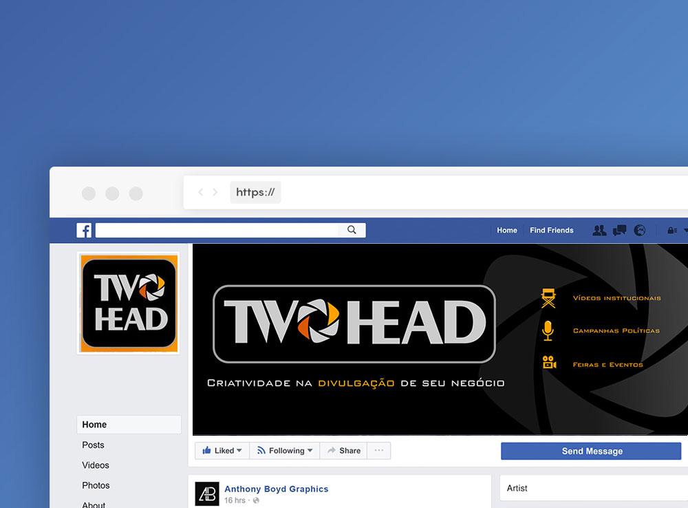 Two Head – Design de Fanpage