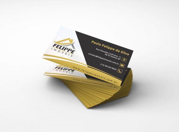 Felippe Imóveis – Cartão de visitas