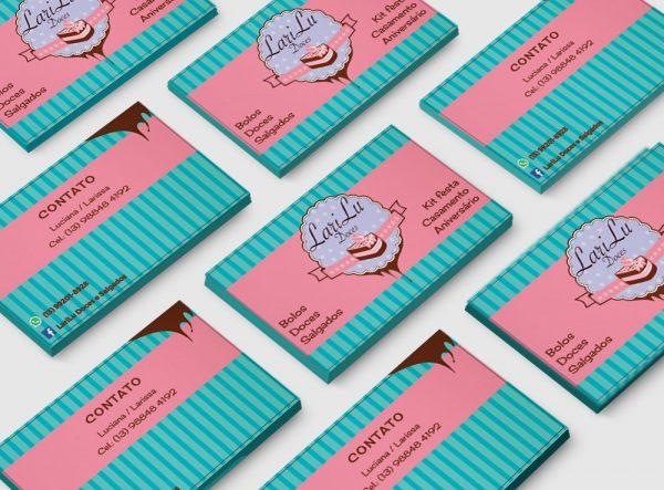 LariLu Doces – Cartão de visitas