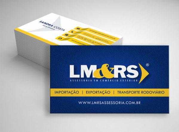 LM&RS Assessoria – Cartão de visitas