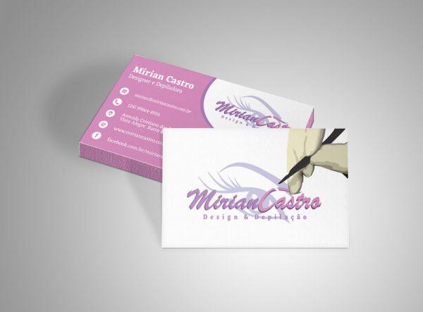 Mirian Castro – Cartão de visitas