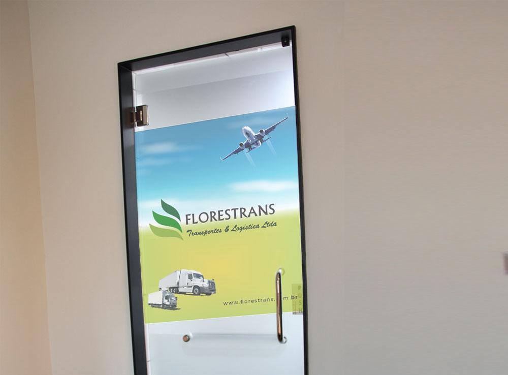 Florestrans – Adesivo (meia porta)