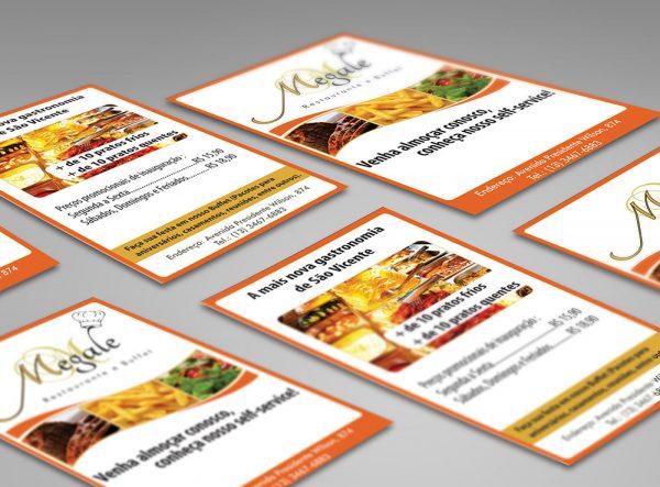 Megale Restaurante – Panfleto