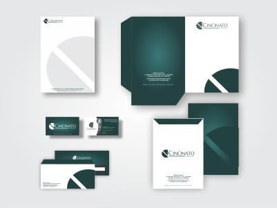 Cincinato Advocacia – design de papelaria